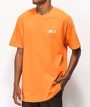 Publish Logo Tee Orange T-Shirt
