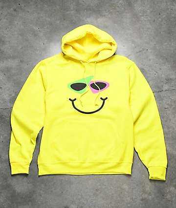 Purdy Gang ROY PURDY Smile Yellow Hoodie