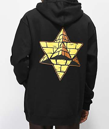 Pyramid Country Bananas Black Hoodie