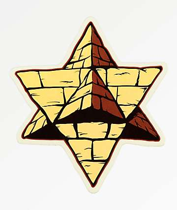 Pyramid Country Logo Sticker