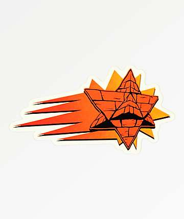Pyramid Country Suns Sticker