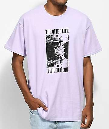 Quiet Life Bacchus camiseta en morado pastel