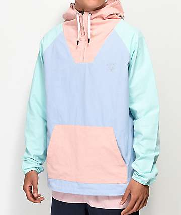 Quiet Life Boardwalk Light Blue Anorak Jacket