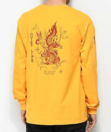 Quiet Life Bring Me Down Gold Long Sleeve T-Shirt