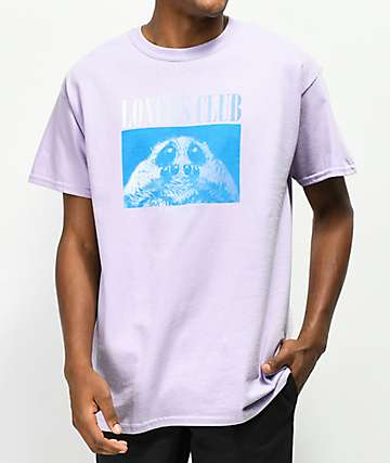 Quiet Life Loners Club Lilac T-Shirt