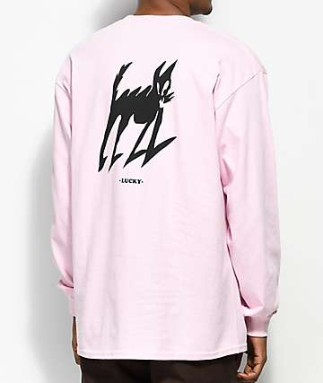 Quiet Life Lucky Pink Long Sleeve T-Shirt