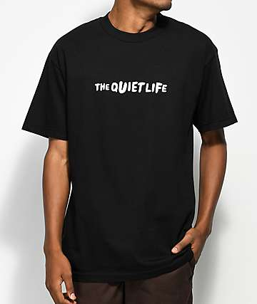 Quiet Life Marx camiseta negra