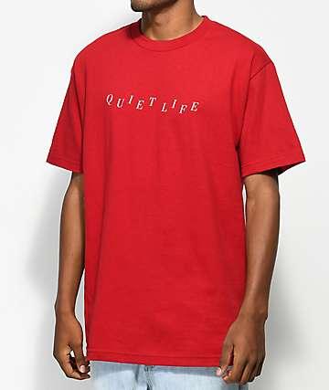 Quiet Life Stagger camiseta roja