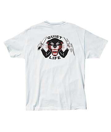 Quiet Life Venom Panther White T-Shirt