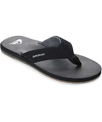 Quiksilver Island Oasis Black Sandals