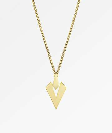 R By Ariel Resurrection Gold Necklace