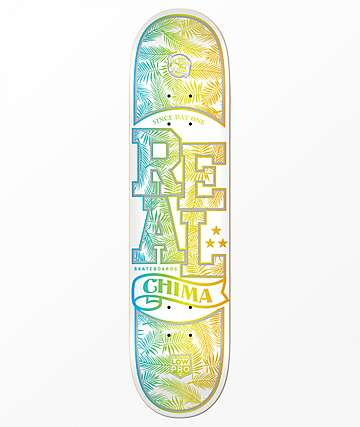 "REAL Chima Lo Pro 8.25"" tabla de skate holográfica"