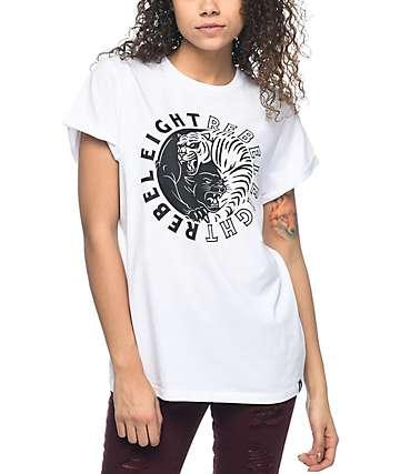 REBEL8 Animosity White T-Shirt