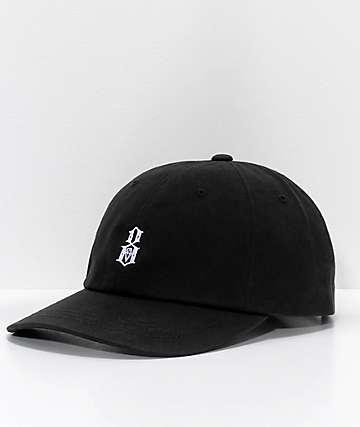 REBEL8 Bogey Black Strapback Hat