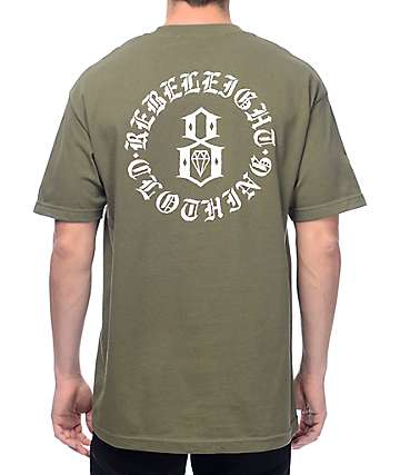 REBEL8 Immortals Dark Green T-Shirt