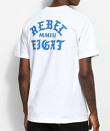 REBEL8 Scriptum White T-Shirt