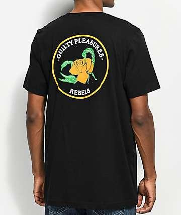 REBEL8 Sins Black T-Shirt