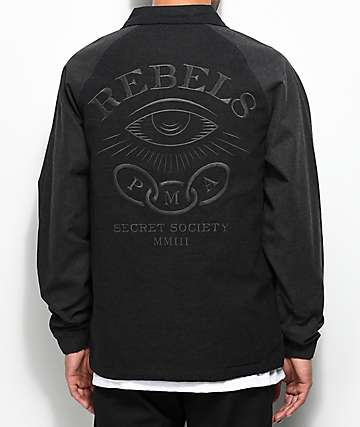 REBEL8 The Order Black Jacket