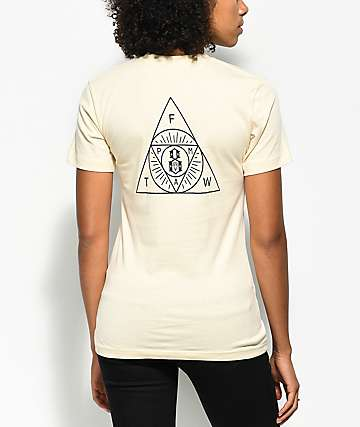 REBEL8 The Order Cream T-Shirt