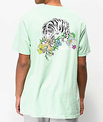 RIPNDIP Blooming Nerm Mint Green T-Shirt