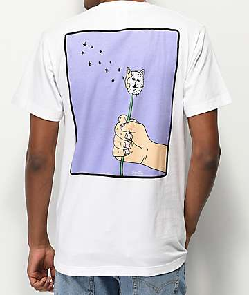 RIPNDIP Blow Me White T-Shirt