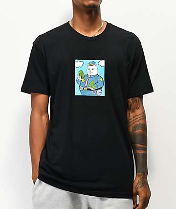RIPNDIP Confiscated Black T-Shirt