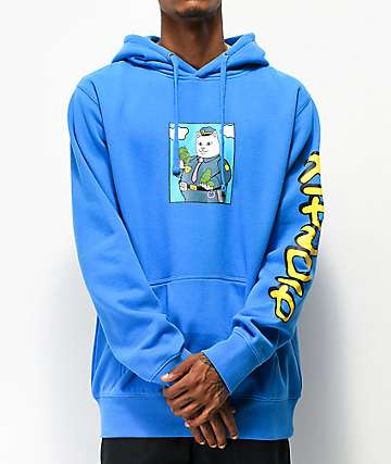 RIPNDIP Confiscated Blue Hoodie