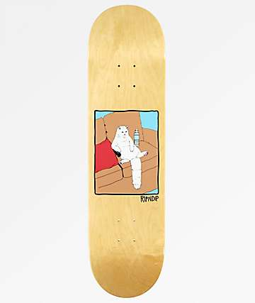 "RIPNDIP Couch Potato 7.75"" Skateboard Deck"