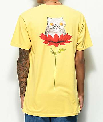 RIPNDIP Daisy Do Yellow t-Shirt