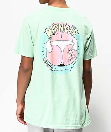 RIPNDIP Dumpy Mint Green T-Shirt