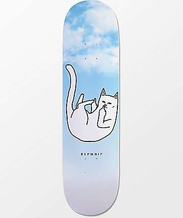 "RIPNDIP Falling For Nermal 8.25""  Skateboard Deck"