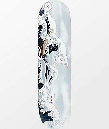 "RIPNDIP Great Wave Of Nerm 8.0"" tabla de skate"