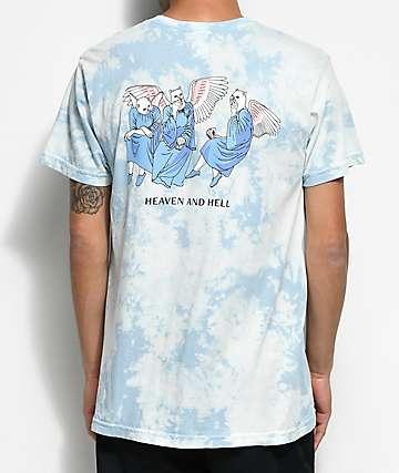 RIPNDIP Heaven And Hell Blue & White T-Shirt
