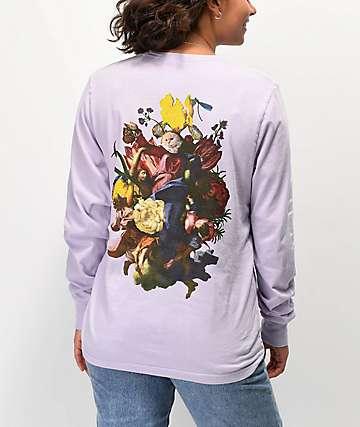 RIPNDIP Heavenly Bodies Violet Long Sleeve T-Shirt