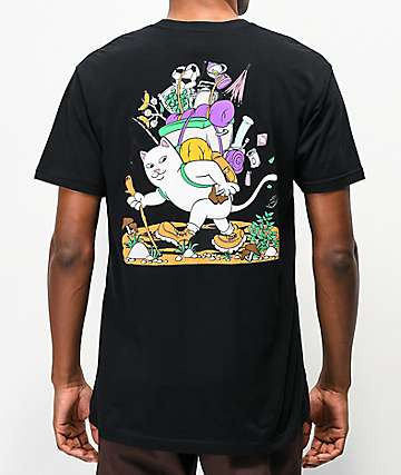 RIPNDIP Hiker Black T-Shirt