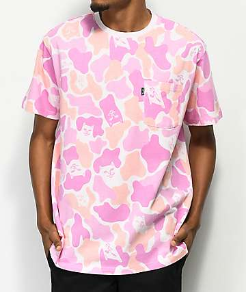 RIPNDIP Invisible Pink Camo T-Shirt
