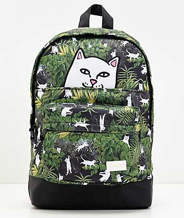 RIPNDIP Jungle Nerm mochila verde