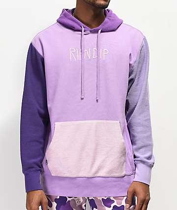 RIPNDIP Loopback Tonal Purple Hoodie