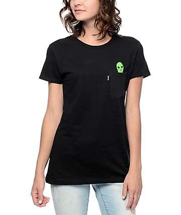 RIPNDIP Lord Alien Black Pocket T-Shirt