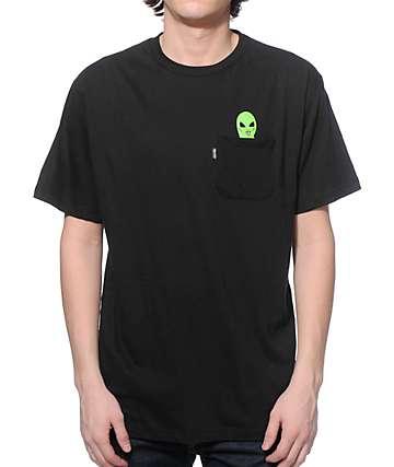 RIPNDIP Lord Alien camiseta con bolsillo negra