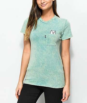 RIPNDIP Lord Nermal Aqua Mineral T-Shirt