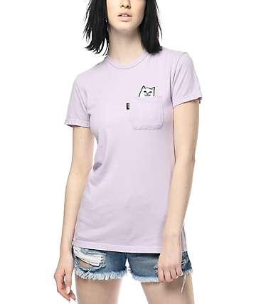 RIPNDIP Lord Nermal Lavender T-Shirt
