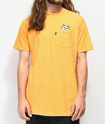RIPNDIP Lord Nermal Pocket Orange T-Shirt