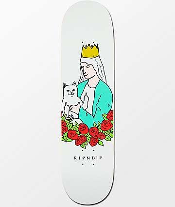 """RIPNDIP Lord Nermal Rose 8.0"""" tabla de skate"""