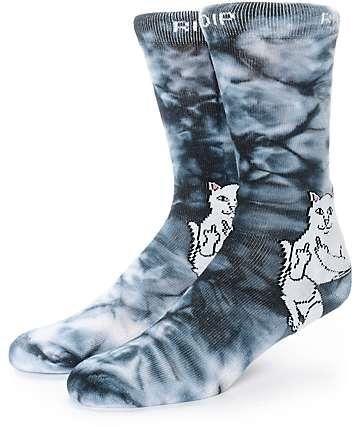 RIPNDIP Lord Nermal Tie Dye calcetines