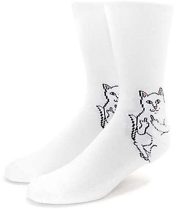 RIPNDIP Lord Nermal calcetines blancos