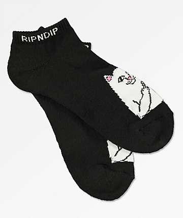 RIPNDIP Lord Nermal calcetines tobilleros en negro