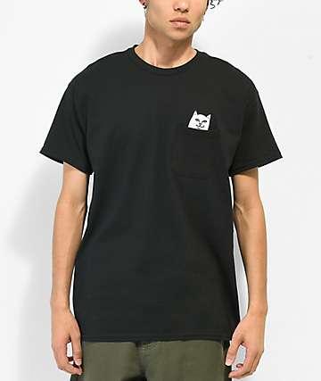RIPNDIP Lord Nermal camiseta con bolsillo