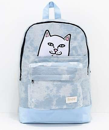 RIPNDIP Lord Nermal mochila con lavado azul