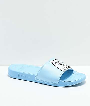 RIPNDIP Lord Nermal sandalias en azul claro